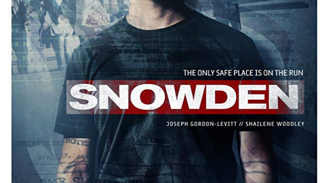 Snowden (2016) Movie Review By Stephen McLaughlin