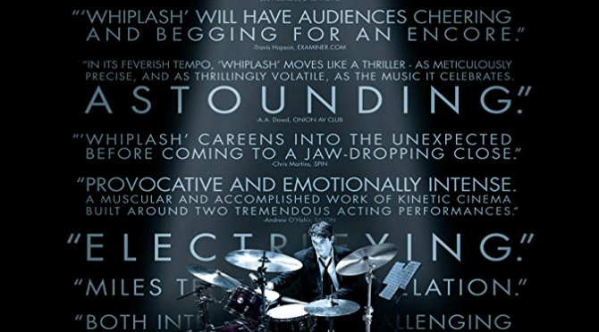 Whiplash (2014) Movie Review by Stephen McLaughlin
