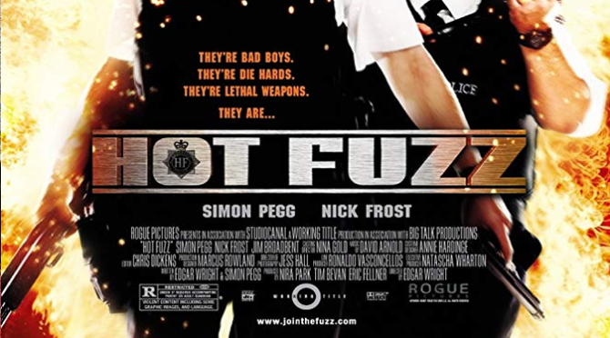 Hot Fuzz (2007) Movie Retro Review by Stephen McLaughlin
