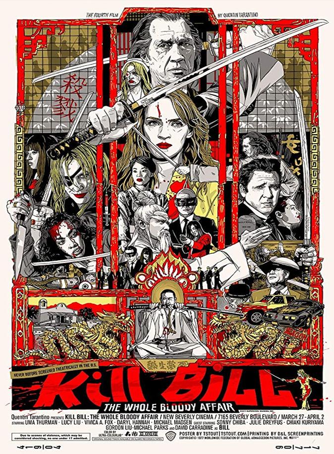 Kill Bill Vol 1 2003 Vol 2 2004 Movie Retro Review By Stephen Mclaughlin Movie Burner Entertainment