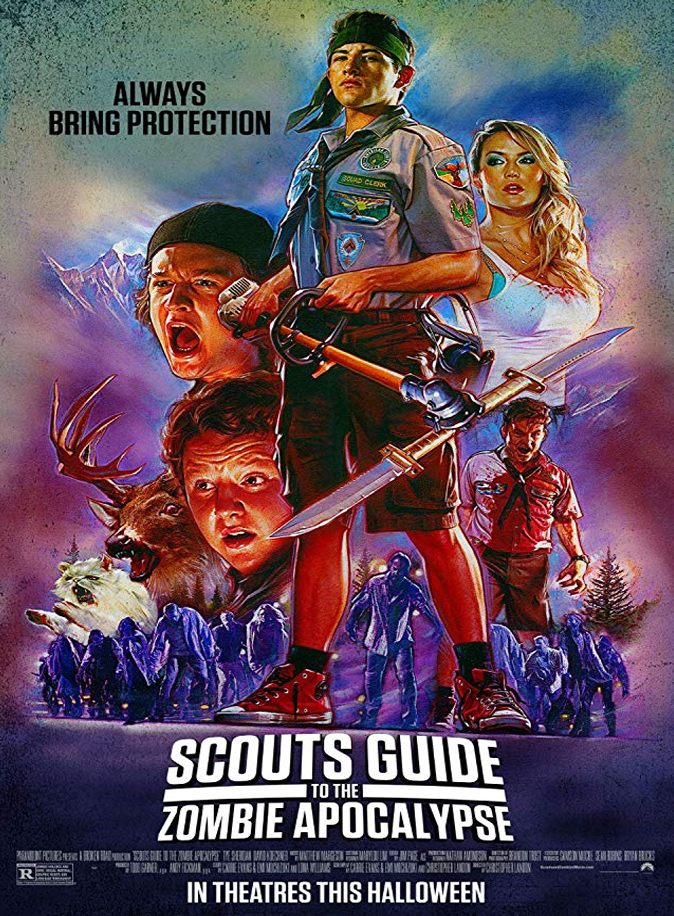 Scouts Guide To The Zombie Apocalypse Review