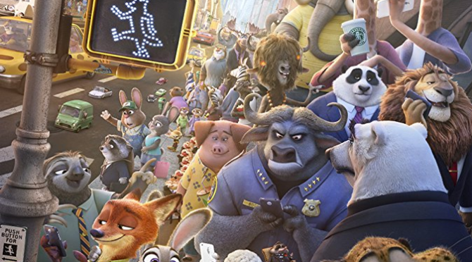 Zootopia (2016) Movie Review by Darrin Gauthier
