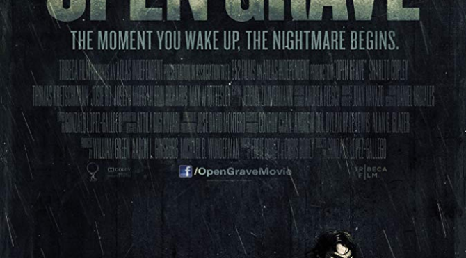 Open Grave (2013) Movie Retro Review by Darrin Gauthier ‬