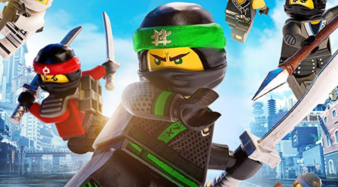 The Lego Ninjago Movie (2017) Movie Review By Darrin Gauthier