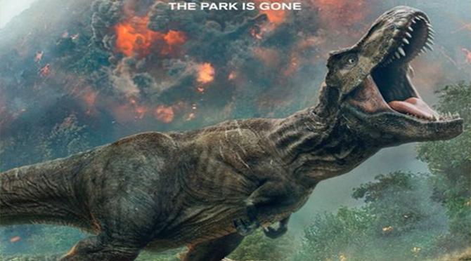 Jurassic World: Fallen Kingdom (2018) Movie Review By John Gray