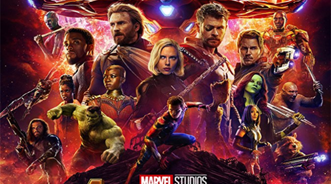 Avengers: Infinity War (2018) Blu-Ray Movie Review By D.M. Anderson