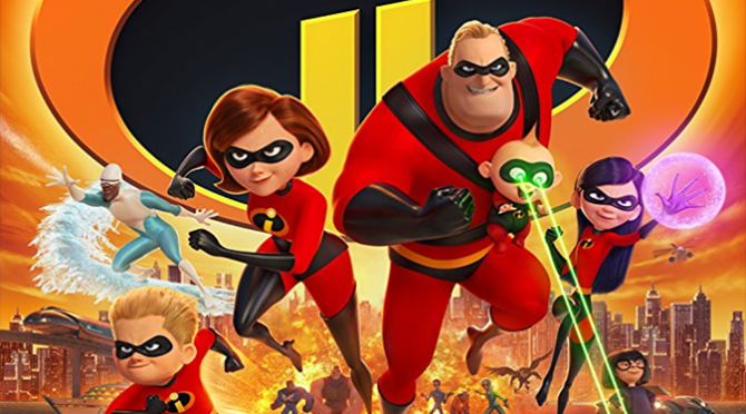 Incredibles 2 (2018) Movie Review By John Walsh