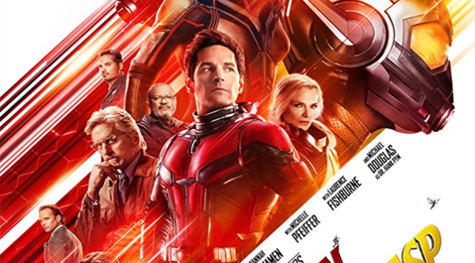 Ant-Man and The Wasp (2018) Movie Blu-ray Review By D.M. Anderson