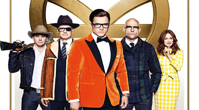 Kingsman: The Golden Circle (2017) Movie Review By Darrin Gauthier