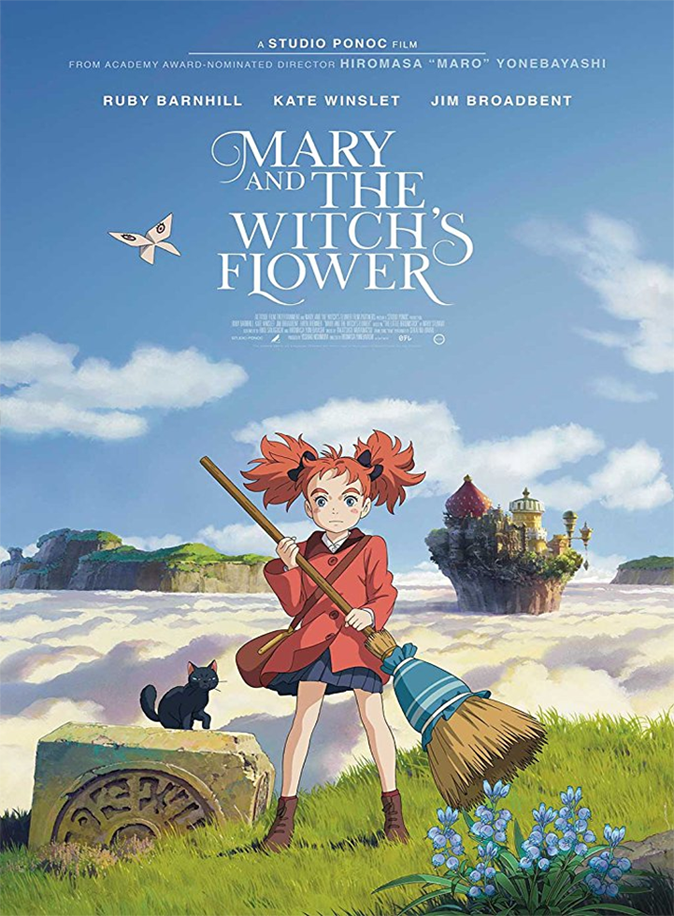 Mary and the Witches Flower
