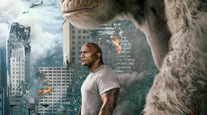 Rampage (2018) Movie Review By Darrin Gauthier