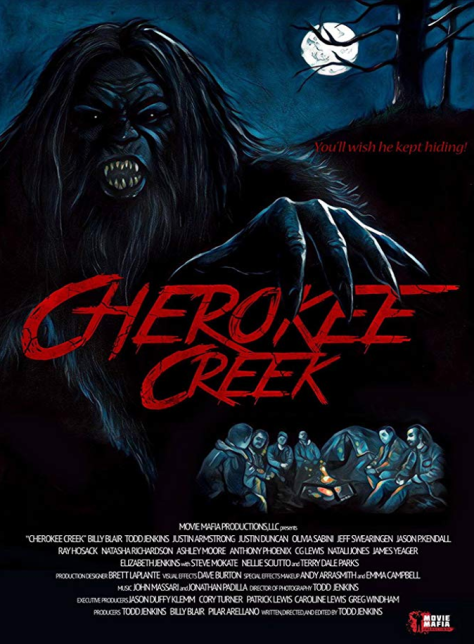Cherokee Creek Review, A bachelor party in the woods gets crashed by the ultimate party animal.
