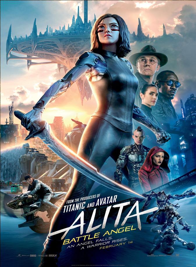 Alita: Battle Angel Review,