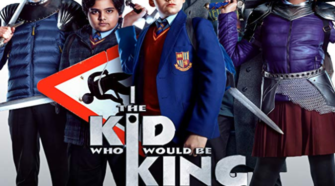 The Kid Who Would Be King Review, A band of kids embark on an epic quest to thwart a medieval menace.