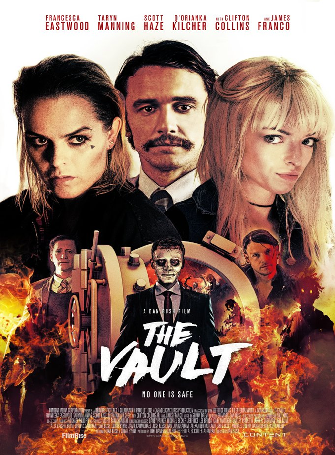 The Vault Review, Two estranged sisters are forced to rob a bank in order to save their brother. But this is no ordinary bank.