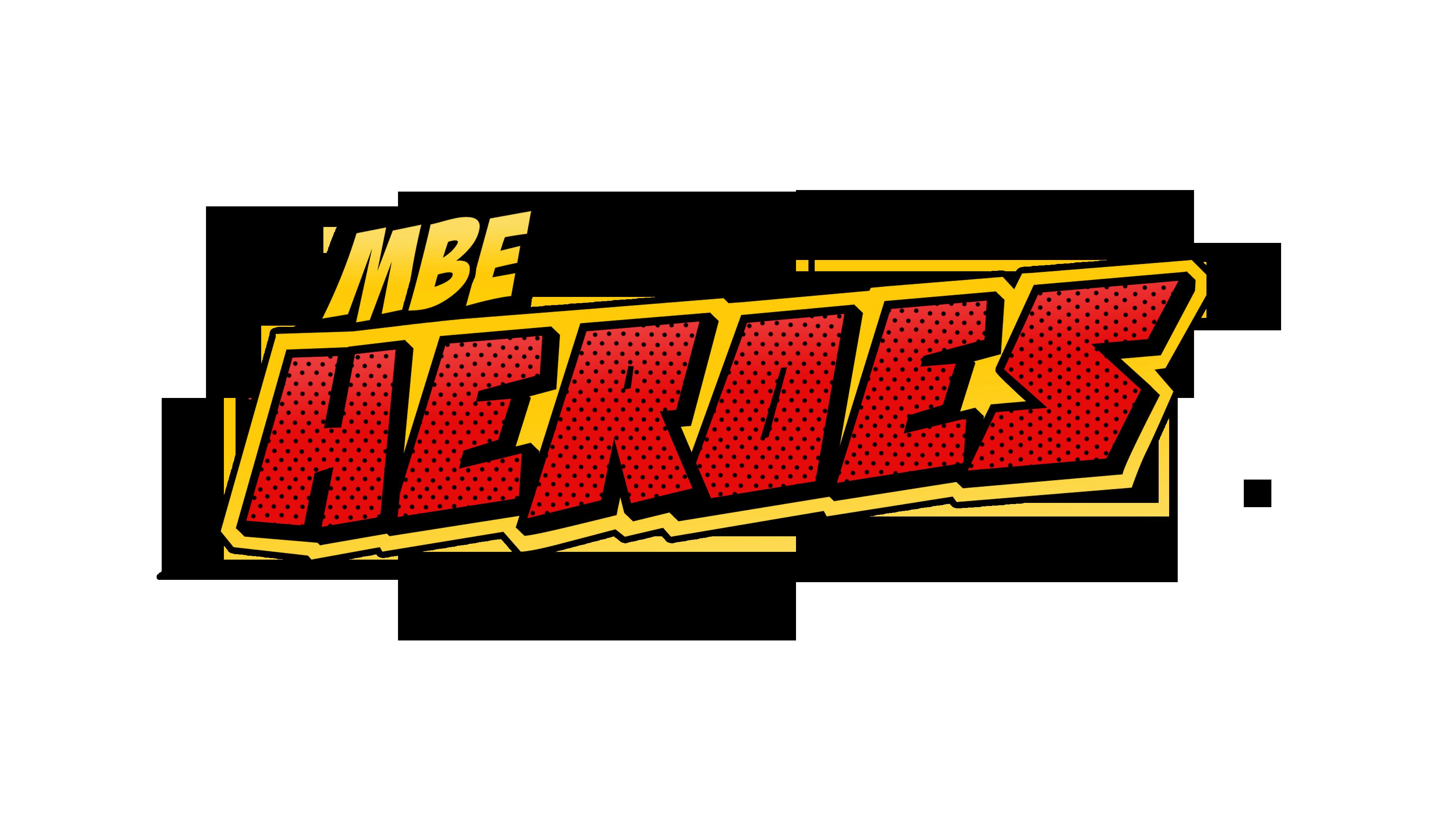 MBE Heroes Logo Transparent