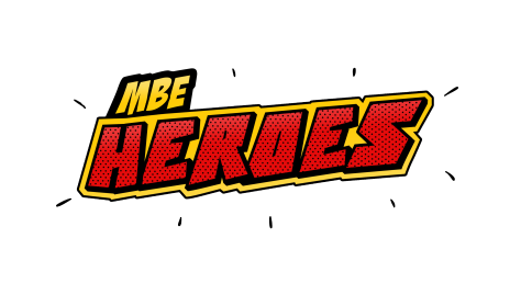 MBE Heroes Logo Transparent