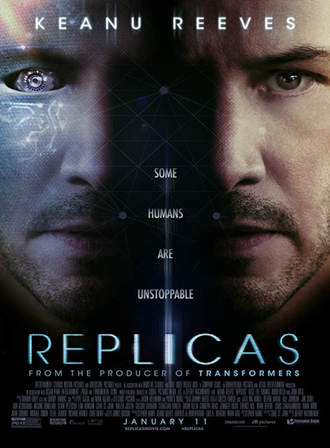 Replicas Review, A scientist becomes obsessed with bringing back his family members who died in a traffic accident