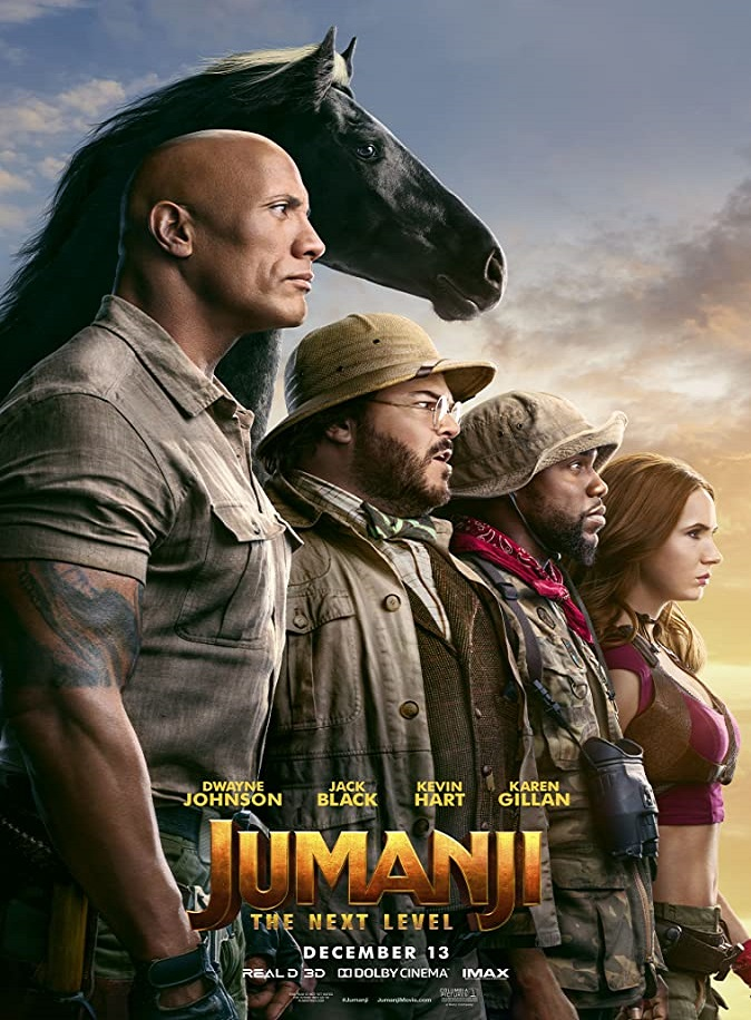 Jumanji The Next Level Review